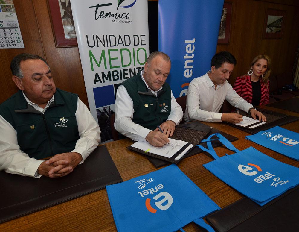 d8a2172e3 Entel entregará 20 mil bolsas ecológicas este verano en Temuco ...