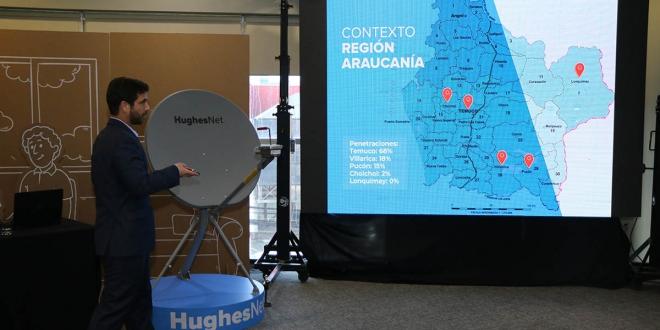 Internet Sateltal Araucania