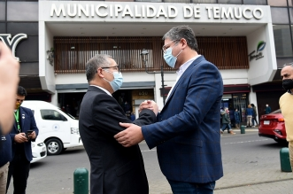 Alcalde electo Roberto Neira