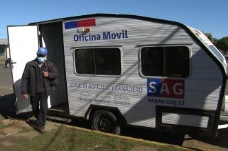 SAG Araucanía oficina movil