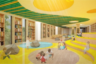 Biblioteca Regional interior