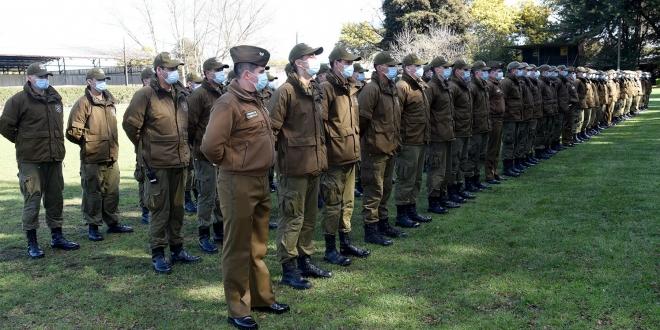 cadetes carabineros