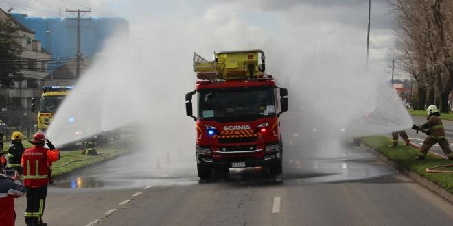 bomberos temuco
